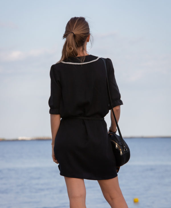 April-et-C. robe col Claudine en Tencel made in France
